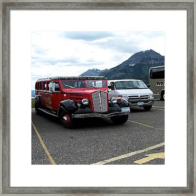 100514 Montana Touring Vechile Framed Print by Garland Oldham