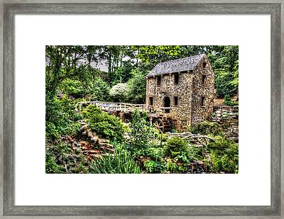 1007-2693 Pugh's Old Mill  Framed Print by Randy Forrester