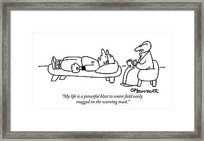 My Life Is A Powerful Blast Framed Print
