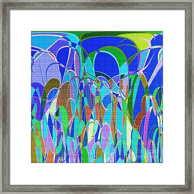 1014 Abstract Thought Framed Print by Chowdary V Arikatla