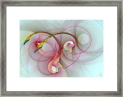 1019 Framed Print by Lar Matre