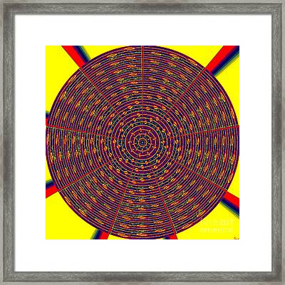 1020 Abstract Thought Framed Print by Chowdary V Arikatla