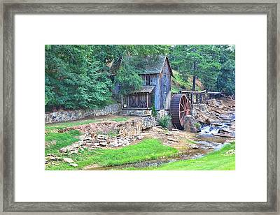 Sixes Mill On Dukes Creek Framed Print by Gordon Elwell