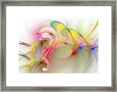1040 Framed Print by Lar Matre