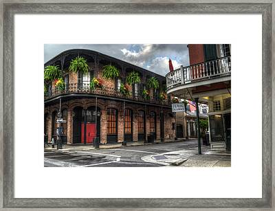 1041 Royal Framed Print by Greg and Chrystal Mimbs