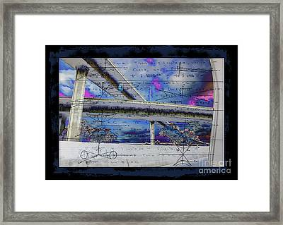 105/110 Cross Freeway Overpass Framed Print by RJ Aguilar