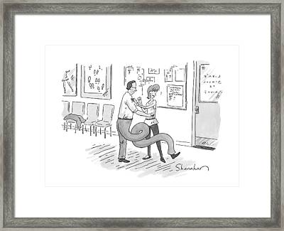 New Yorker September 14th, 2009 Framed Print by Danny Shanahan