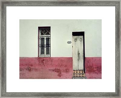 1062 Ebeneezer Goods Place.. Framed Print by A Rey