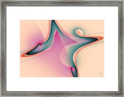 1068 Framed Print by Lar Matre