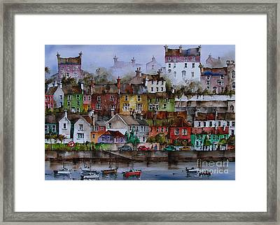 107 Windows Of Kinsale Co Cork Framed Print
