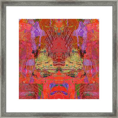 1074 Abstract Thought Framed Print by Chowdary V Arikatla