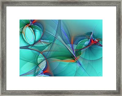 1074 Framed Print by Lar Matre