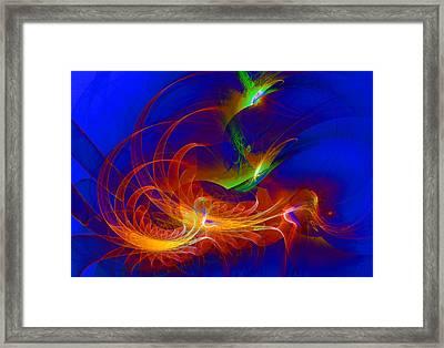 1076 Framed Print by Lar Matre