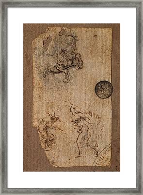 Italy, Veneto, Venice, Accademia Art Framed Print