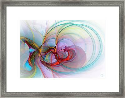 1086 Framed Print by Lar Matre