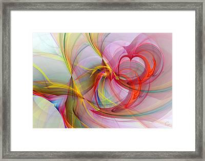 1087 Framed Print by Lar Matre