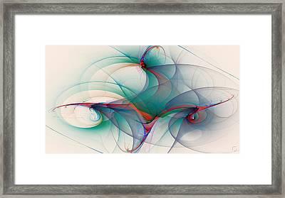 1089 Framed Print by Lar Matre