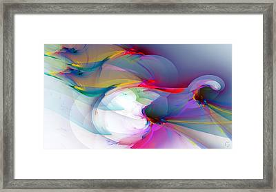 1091 Framed Print by Lar Matre