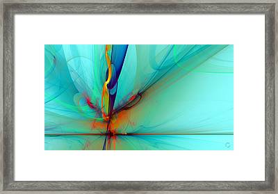 1093 Framed Print