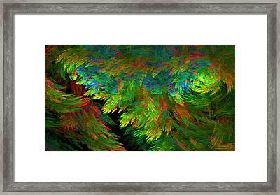 1098 Framed Print