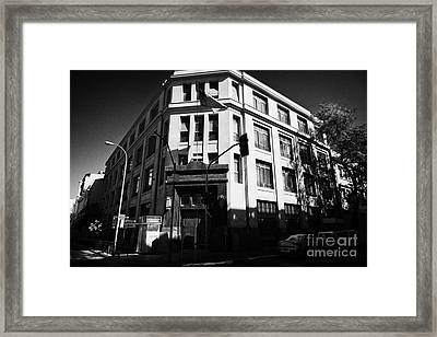 10th Criminal Court Decimo Tercer Juzgado Del Crimen Santiago Chile Framed Print by Joe Fox