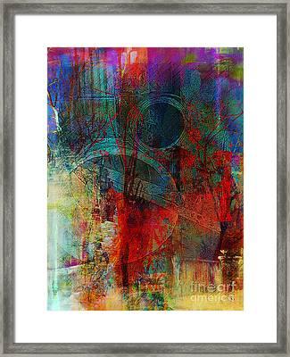 10th Dimension Framed Print by Fania Simon