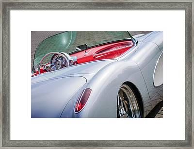 1960 Chevrolet Corvette Framed Print by Jill Reger