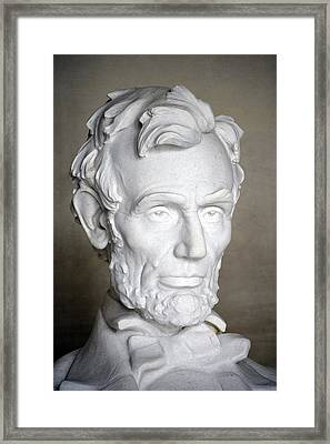 Abraham Lincoln (1809-1865) Framed Print by Granger