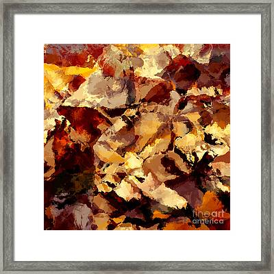 Abstract Framed Print by T White