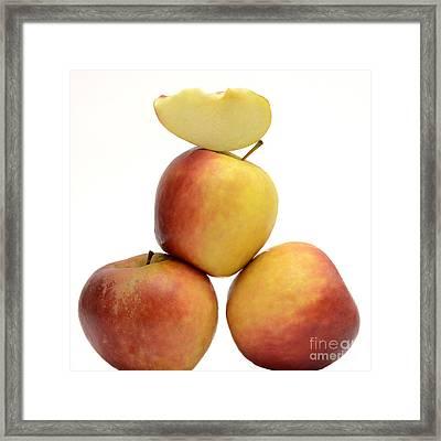 Apples Framed Print by Bernard Jaubert