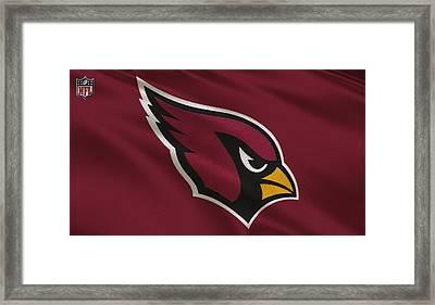 Arizona Cardinals Uniform Framed Print by Joe Hamilton