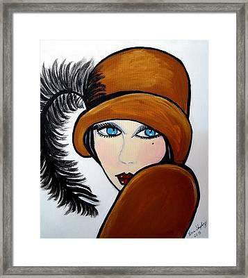 Art Deco  Gail Framed Print