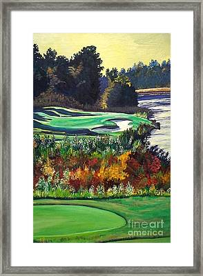 11 At Legacy Links Framed Print by Frank Giordano