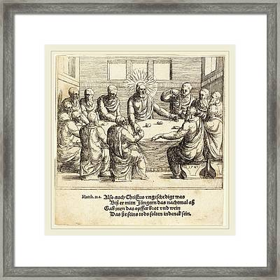Augustin Hirschvogel German, 1503-1553 Framed Print