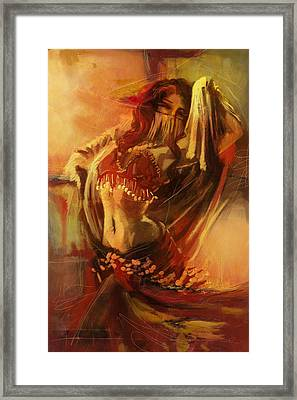 Belly Dancer 10 Framed Print