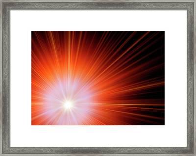 Big Bang Framed Print by Detlev Van Ravenswaay
