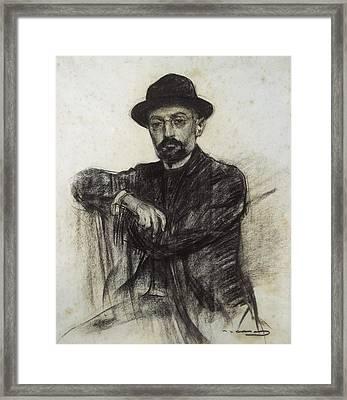 Casas I Carbo, Ram�n 1866-1932 Framed Print