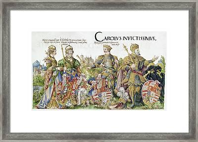 Charles V (1500-1558) Framed Print by Granger