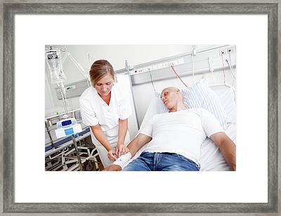 Chemotherapy Treatment Framed Print