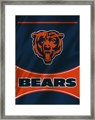 Chicago Bears Uniform Framed Print
