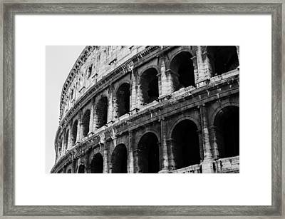Colosseum  Framed Print by Andrea Mazzocchetti