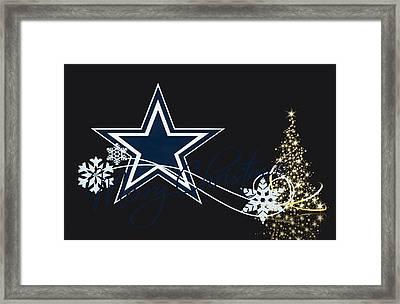 Dallas Cowboys Framed Print