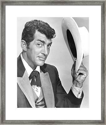 Dean Martin Framed Print by Silver Screen