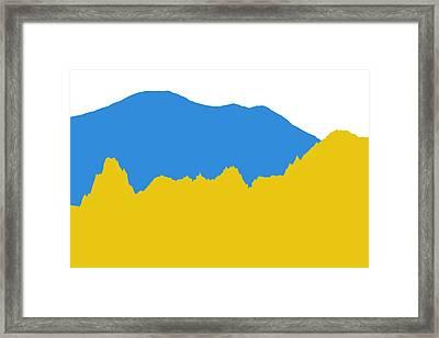 Denver Nuggets Framed Print