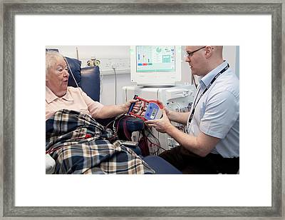 Dialysis Unit Framed Print by Life In View/science Photo Library