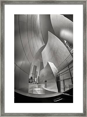 Disney Concert Hall Framed Print
