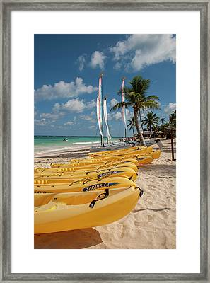 Dominican Republic, Punta Cana, Higuey Framed Print by Lisa S. Engelbrecht