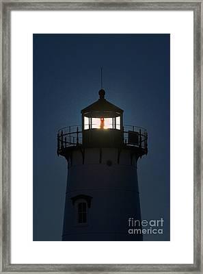 Edgartown Lighthouse Framed Print by John Greim