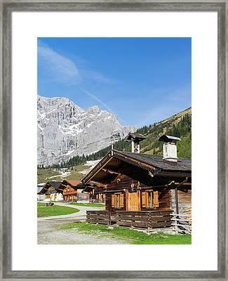 Eng Valley, Karwendel Mountain Range Framed Print by Martin Zwick