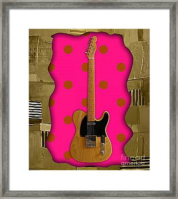 Fender Telecaster Collection Framed Print
